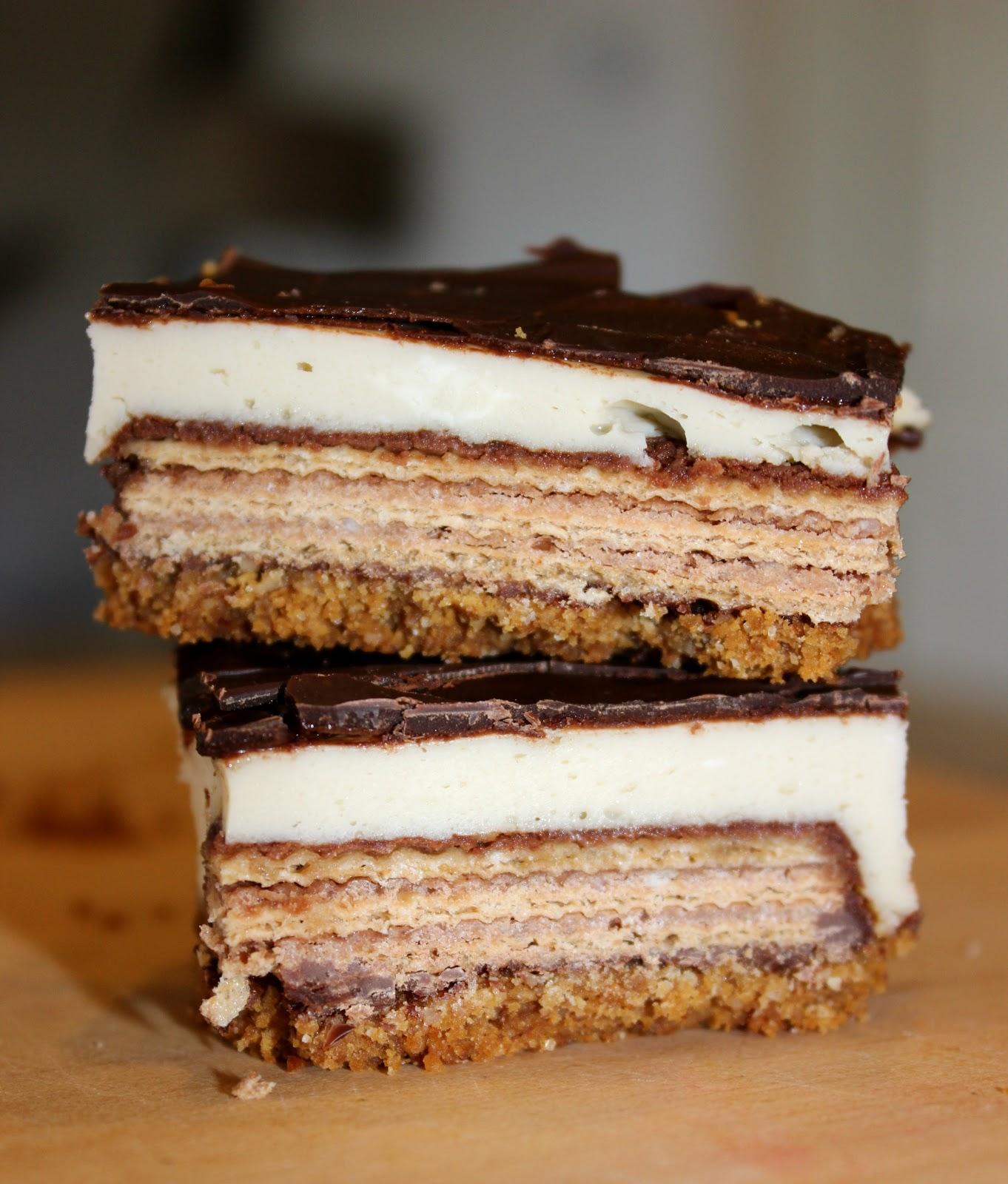 Sugar Amp Spice Kit Kat Cheesecake Bars