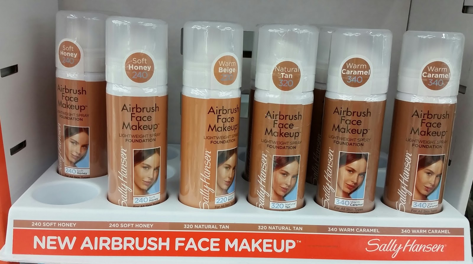 Sally hansen airbrush face makeup