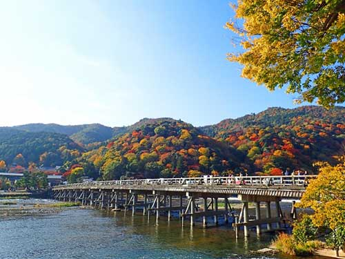 From Saga to Arashiyama On Foot.