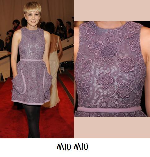 Clones 2011 vestido Miu Miu