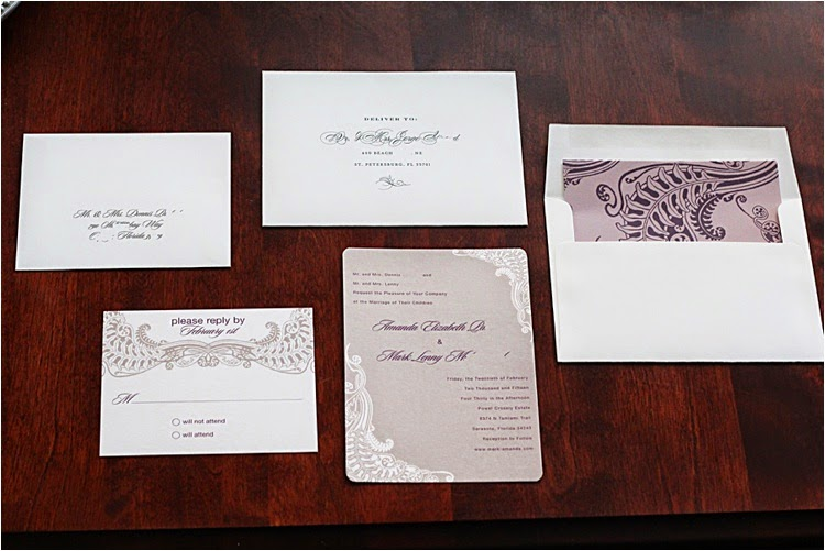 Wedding Invitations with Minted!