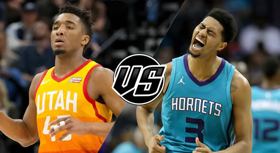 Live Streaming List: Utah Jazz vs Charlotte Hornets 2018-2019 NBA Season