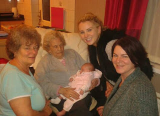 5 generations of one family manchester,cheshire,france