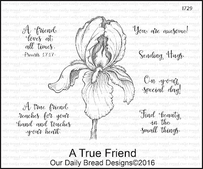 Our Daily Bread Designs Stamp Set: A True Friend