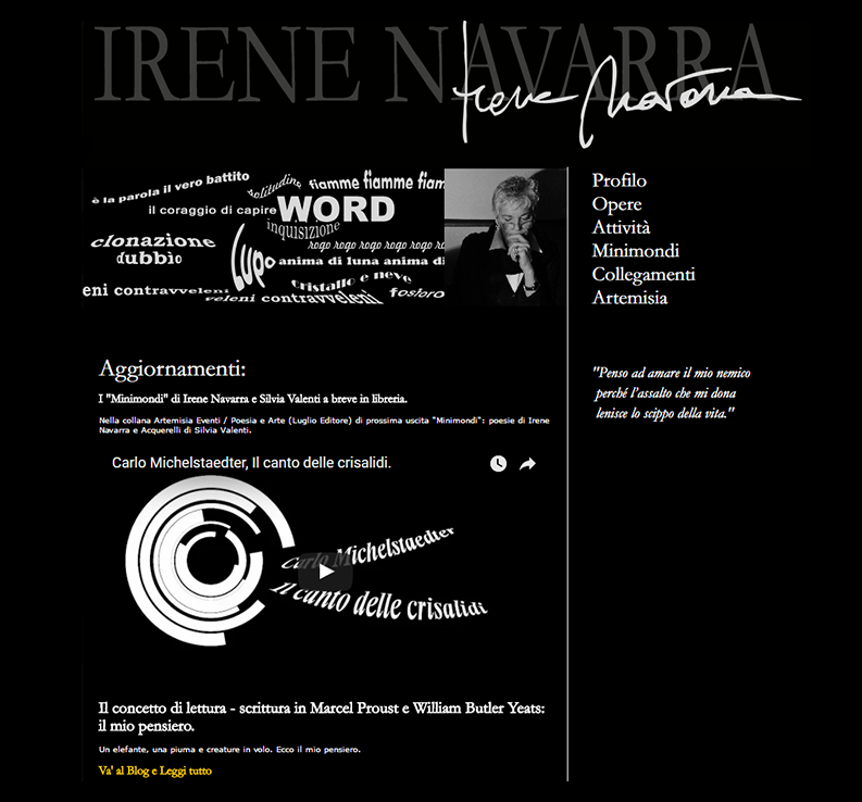 Poesia / Derive - (Proposito).