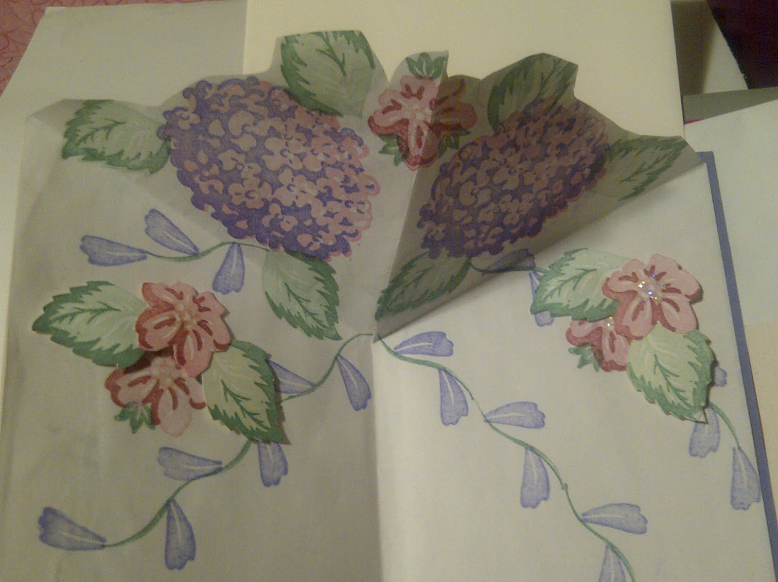 Romantic Stamping My Two Favorite Cards Pop Up Origami Flower