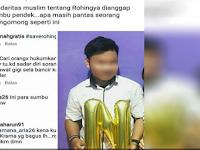 Parah, Netizen ini Sebut Aksi Bela Rohingya Dilakukan Kaum Sumbu Pendek