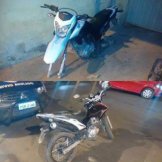 Motos roubadas são encontradas escondidas em matagal às margens do Rio Itapecuru em Caxias