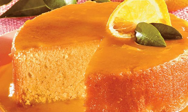 Receta de Torta de Licor y Jarabe de Naranja
