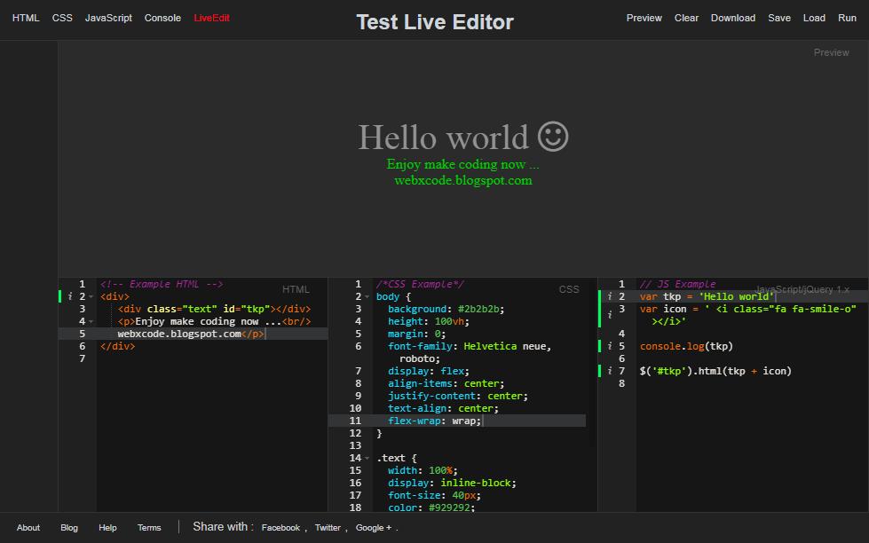 webxcode - Ace Editor Kode Kinerja Tinggi untuk Web