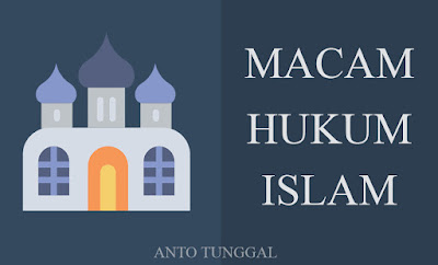 pengertian dan macam-macam hukum islam
