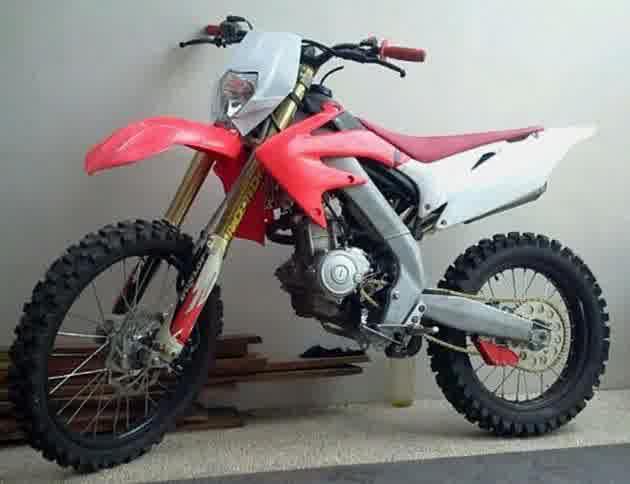 Modifikasi Yamaha Vixion Menjadi Trail Motorcross