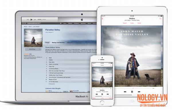 iCloud và iTunes của Iphone 5s cũ