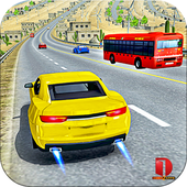 Modern Car top drift Traffic Race- free