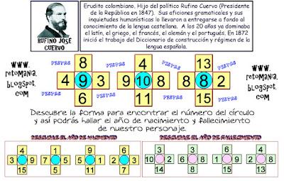 Descubre el número, Jugando con números, Piensa rápido,