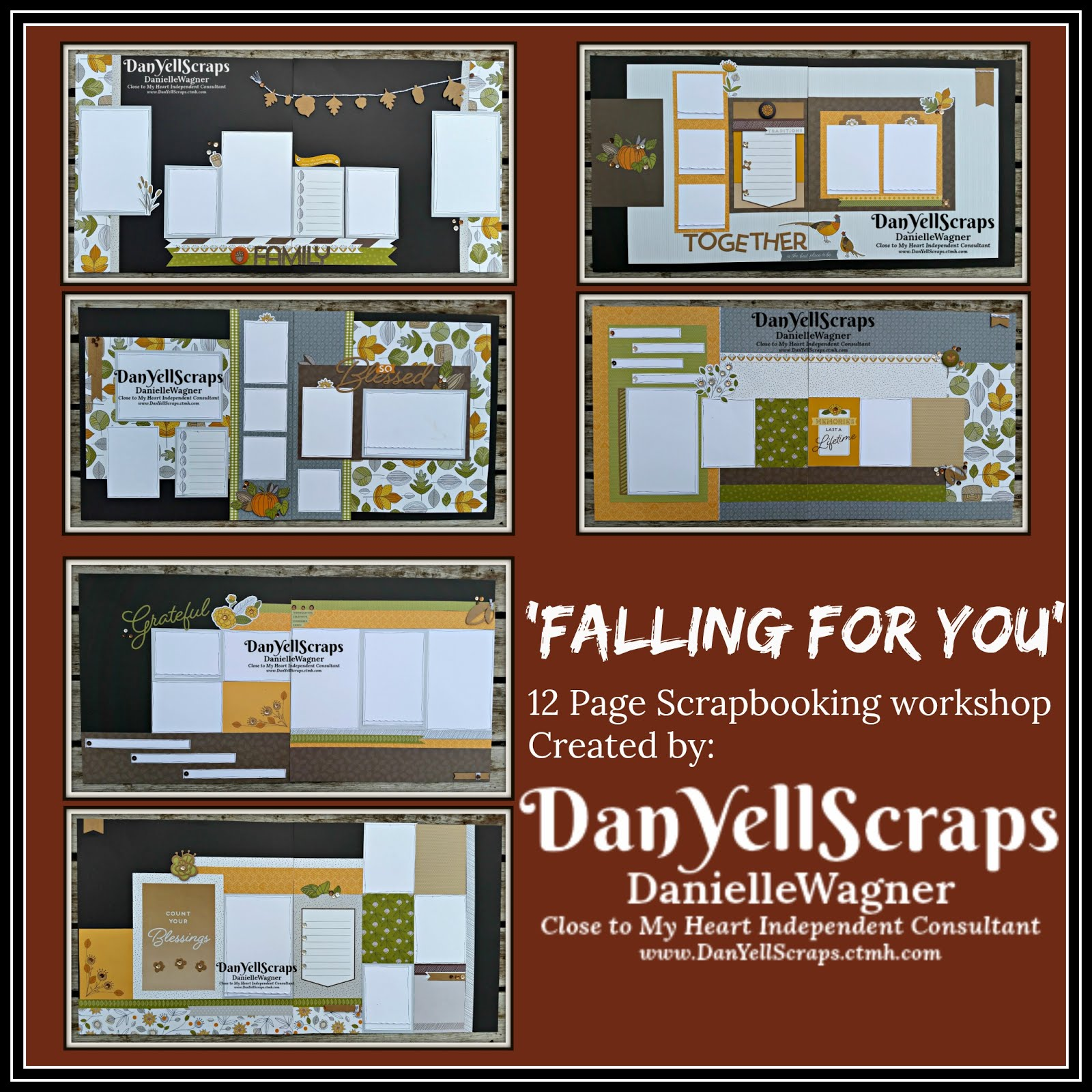 Falling For You Scrapbooking Workshop