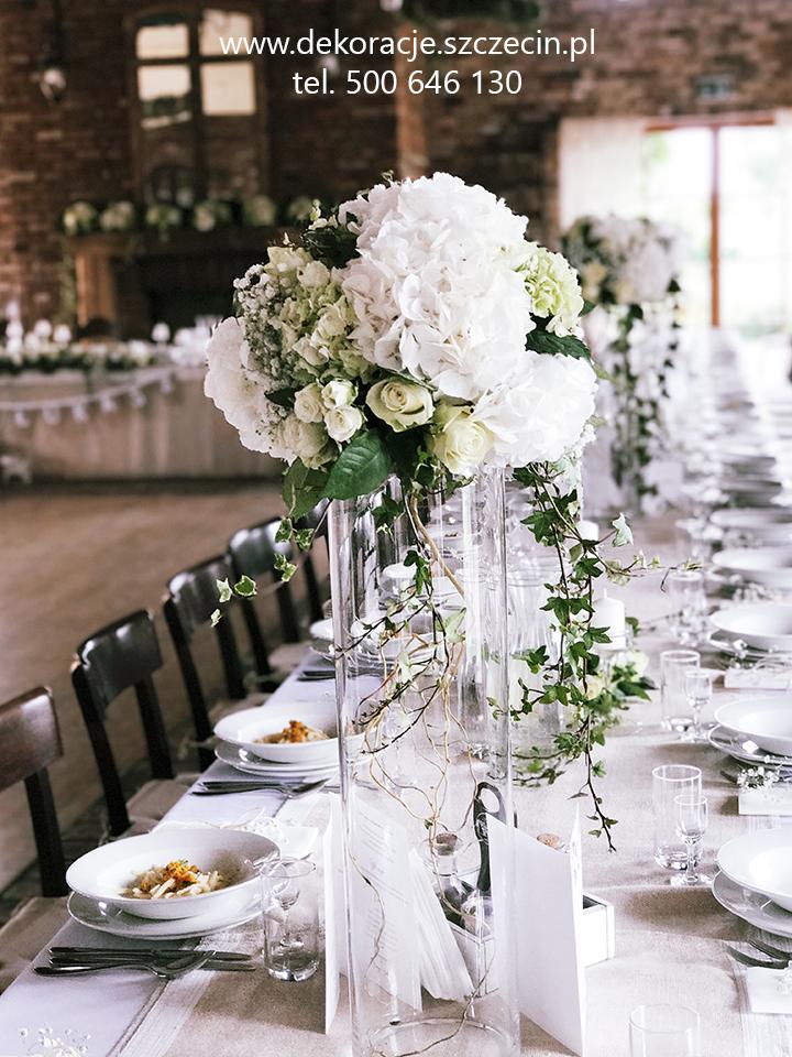 dekoracja ślubna rustykalna szczecin