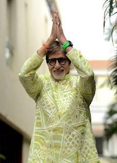 Bollywood actor Amithabh Bachchan