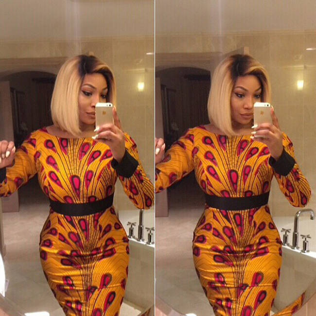 short ankara dress