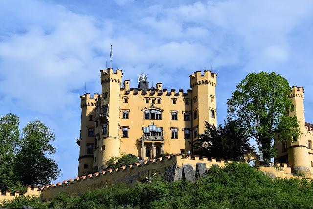 Il castello di Hogenschwangau.