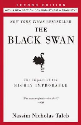 The Black Swan by Nassim Nicholas Taleb - book cover