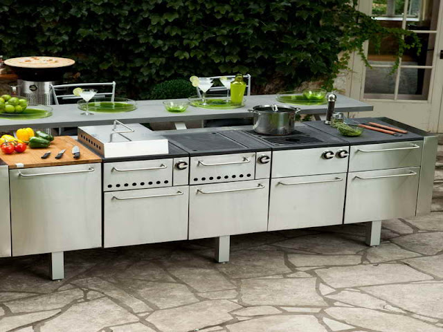 Small Modular Outdoor Kitchen Units Small Modular Outdoor Kitchen Units bright idea outdoor kitchen modular cabinets kits home design ideas and pictures
