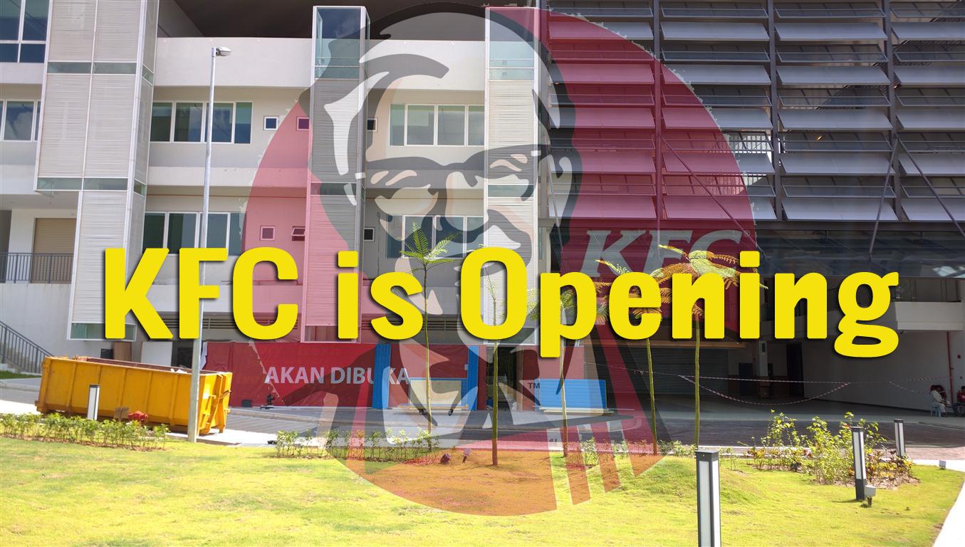 Fried Chicken Joke Waterfront Properties Blog: De Centrum Bangi, Kajang: KFC At De Centrum Mall Is