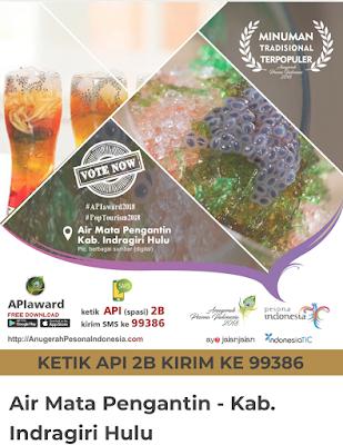 Minuman Melayu Riau Air Mata Pengantin