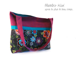 sac cabas original et coloré