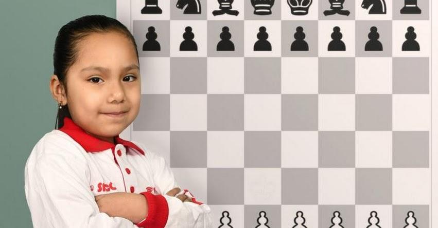 IRINA ROJAS SALAS: Escolar de 6 años logró Subcampeonato Panamericano de Ajedrez