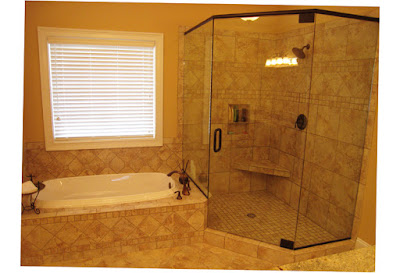 Brown Beautiful and Good Beautiful Master Bathroom Photos New Pic