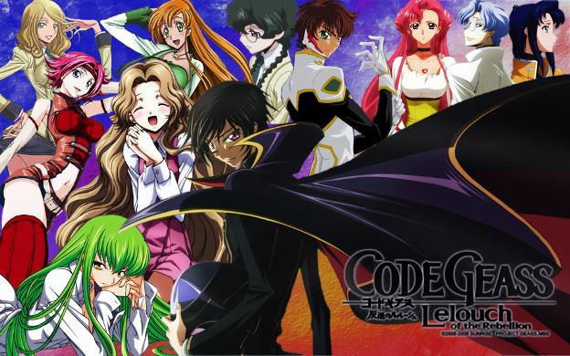 Code Geass: Lelouch of the Rebellion - Top Best War Anime List (From Medieval, Modern to Future War)