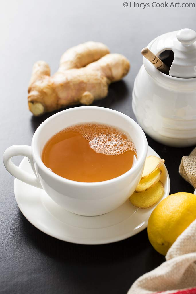 Ginger tea for cold