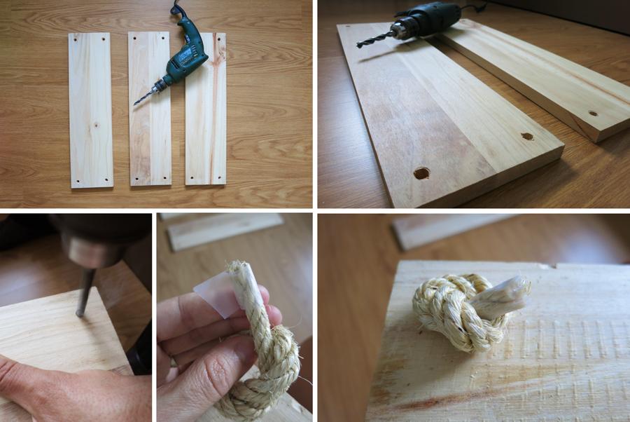 Decorar en familia_Diy baldas de cuerda y madera3