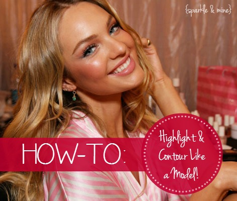 How To Highlight & Contour Victoria Secret Supermodel Makeup Secrets