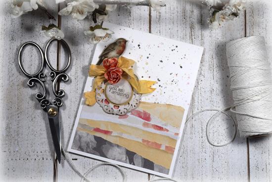 Handmade card by Julee Tilman www.poeticartistry.blogspot.com