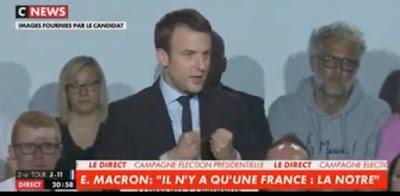 Macron tente de faire peur aux français