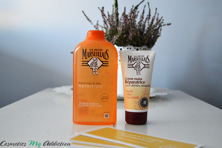LE PETIT MARSEILLAIS | pielęgnujący olejek do mycia oraz krem do rąk | paczka ambasadorska