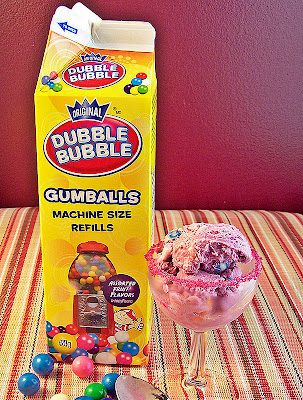 Bubble Gum Ice Cream by Cravings of a Lunatic