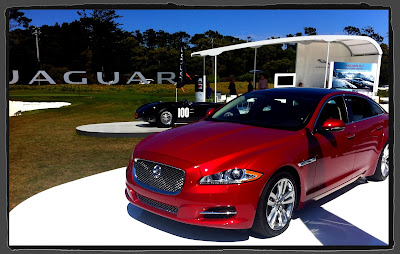 Jaguar XJL Ultimate during Pebble Beach Concours d'Elegance