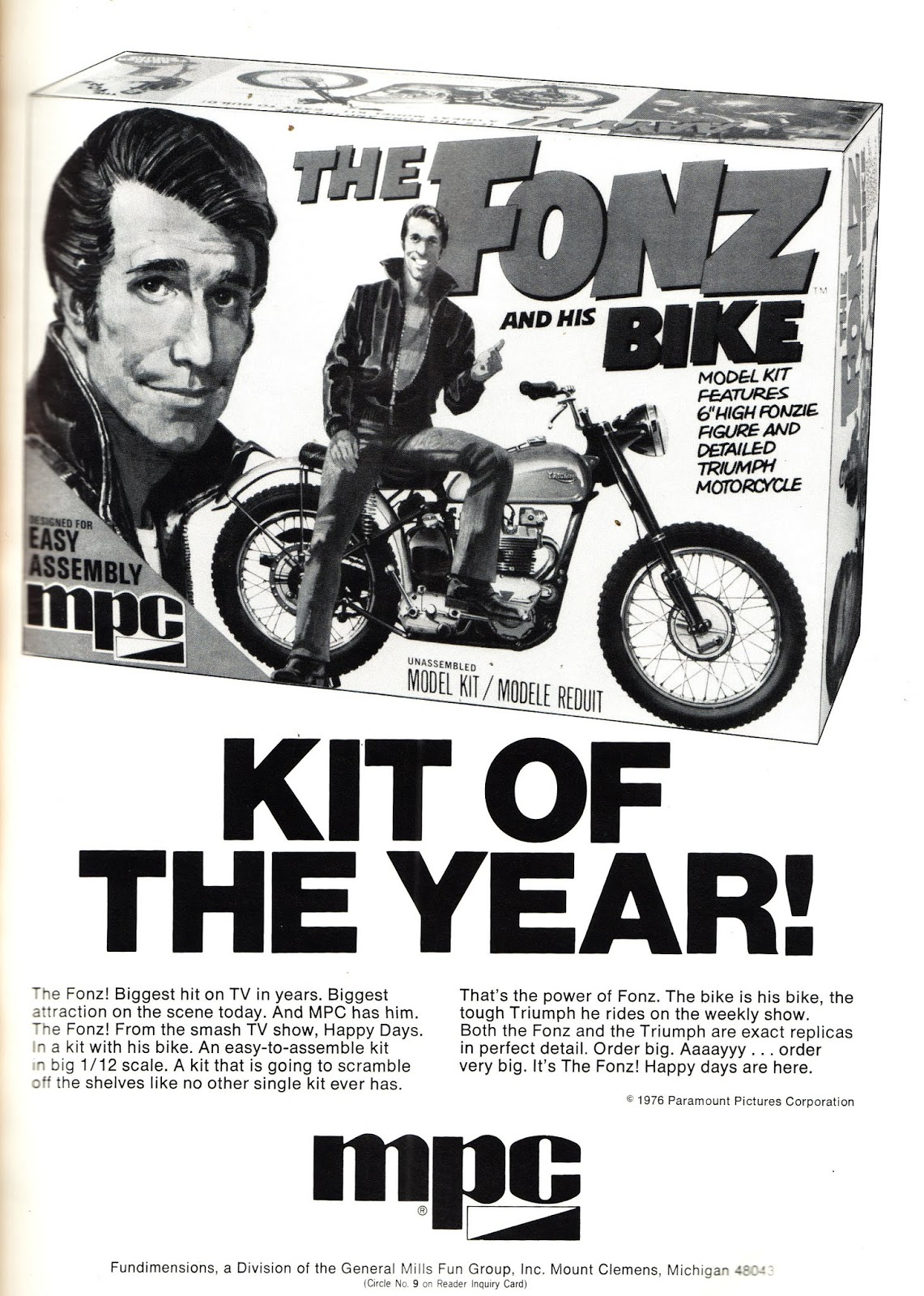 Image result for mpc fonz bike
