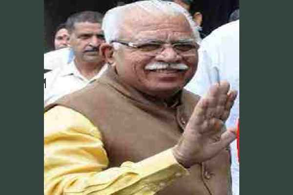 cm-manohar-lal-khattar-meet-villagers-basai-people-become-happy