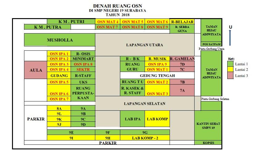 Seleksi OSN SD/MI Tingkat Kota Surabaya Tahun 2018