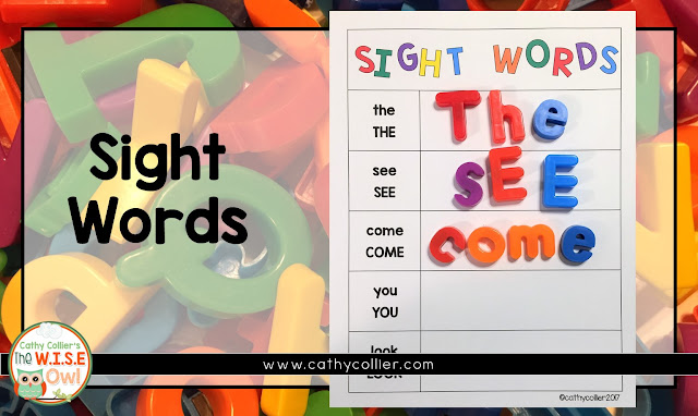 Using magnet letters to create, build,  construct, deconstruct and make words is a valuable activity for all students. Here are 6 ideas for magnet letters.