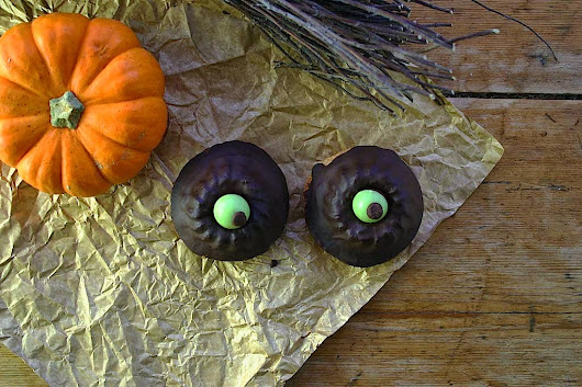halloween witches eye-balls and goblins bones
