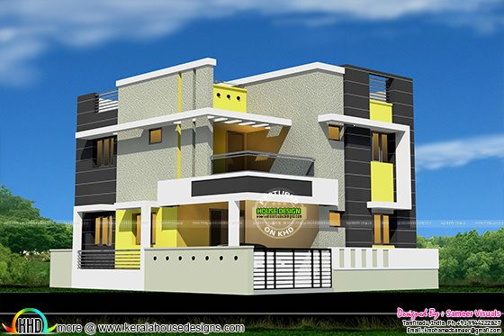 New modern house design