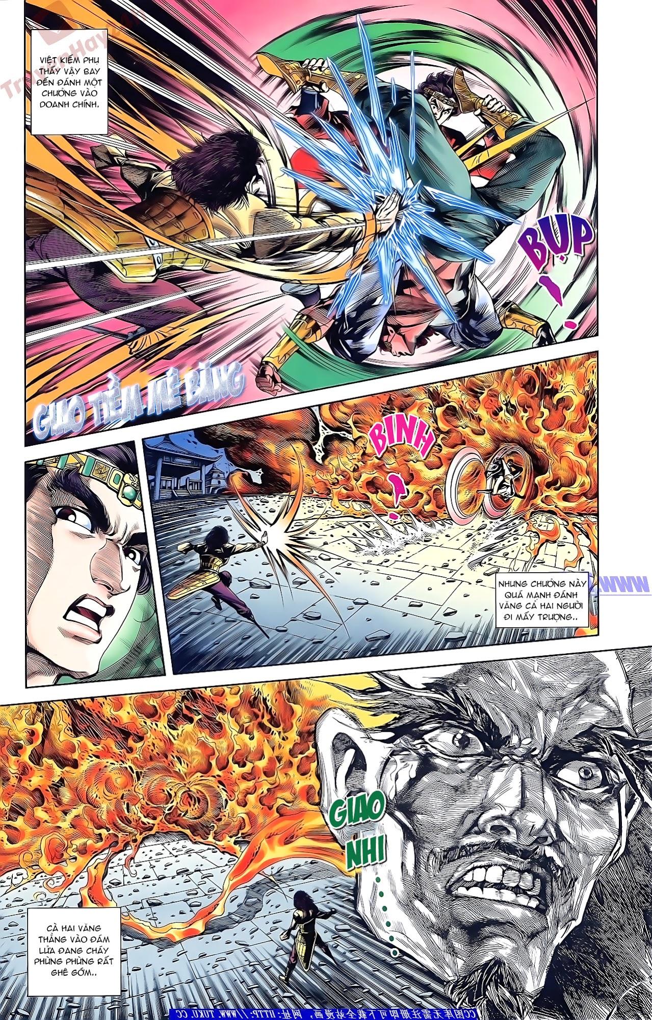 Tần Vương Doanh Chính chapter 51 trang 8