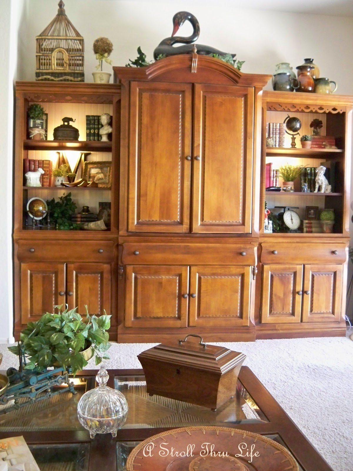 Entertainment Center Decorating Ideas Spanish Style Decorating