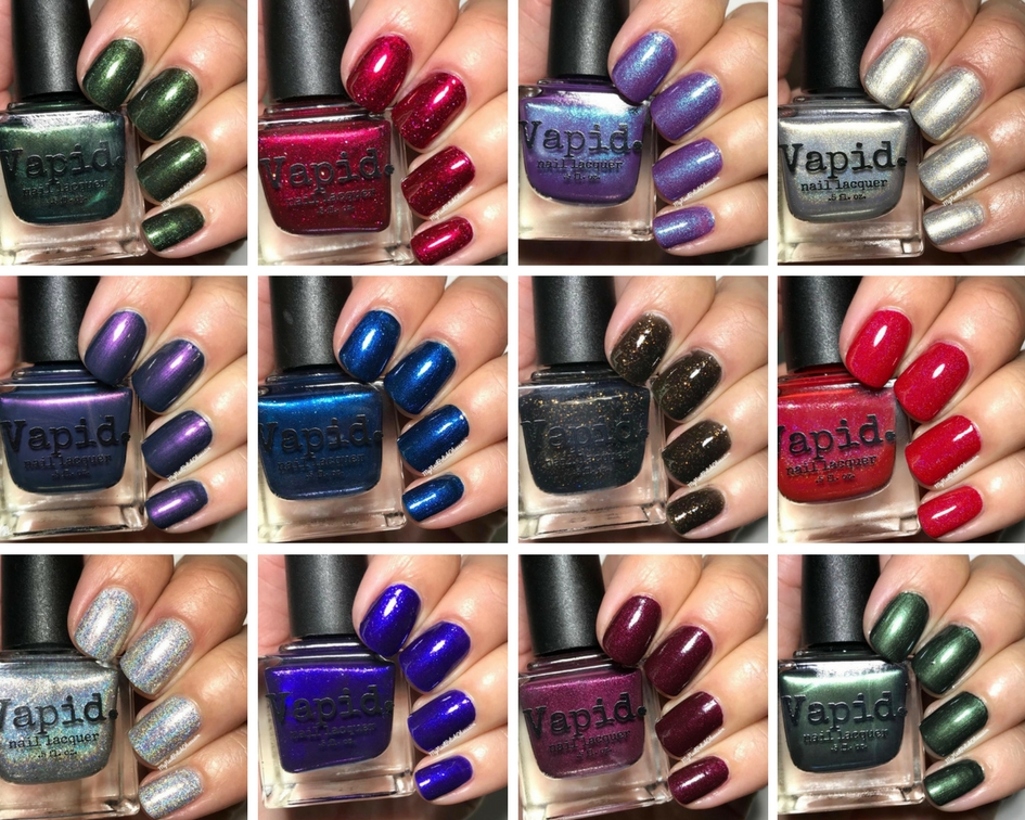 My Nail Polish Obsession: Vapid Lacquer Black Friday 2017