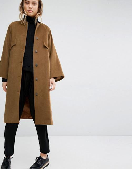 paisie mustard coat, paisie winter coat, paisie olive coat,